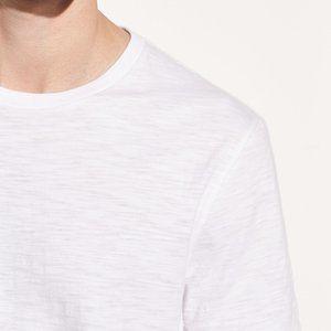 Vince Slub Cotton Crewneck T-shirt Size M